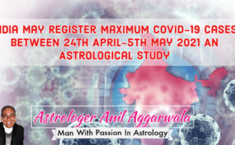 Covid-19 Cases Reducing As Predicted From 30th April 2021 10 June 2021 Annular Solar Eclipse What It Has Up It's Sleeves ? Astrologer Anil Aggarwala